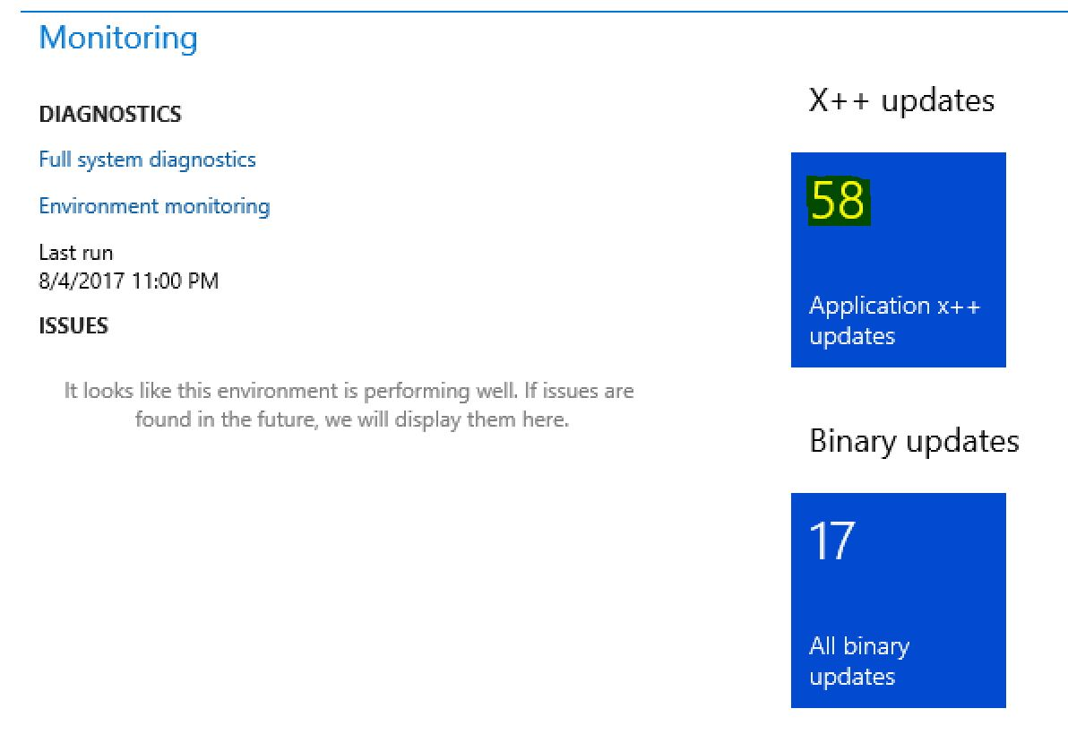 Dynamics 365 for Finance and Operations hotfix and