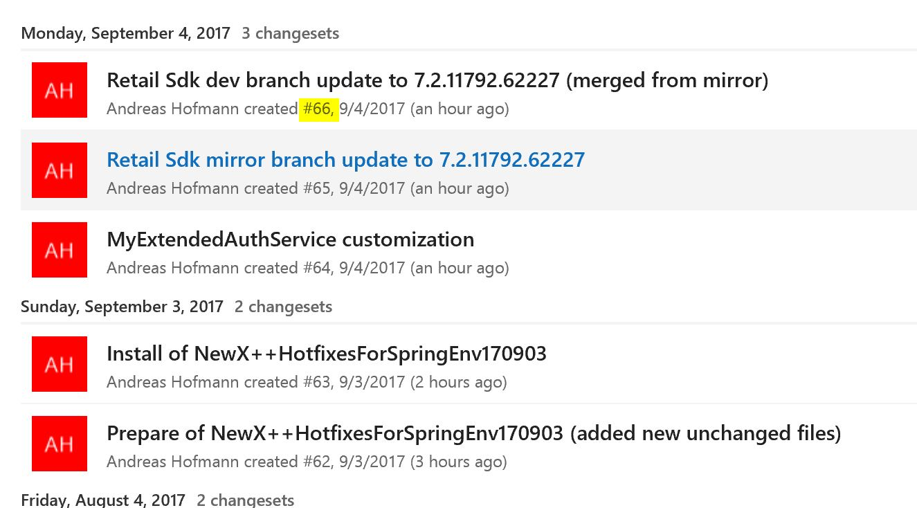 Dynamics 365 for Finance and Operations hotfix and deployment cheat